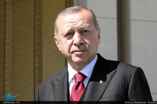 اردوغان به مکرون: تست سلامت عقل بده!